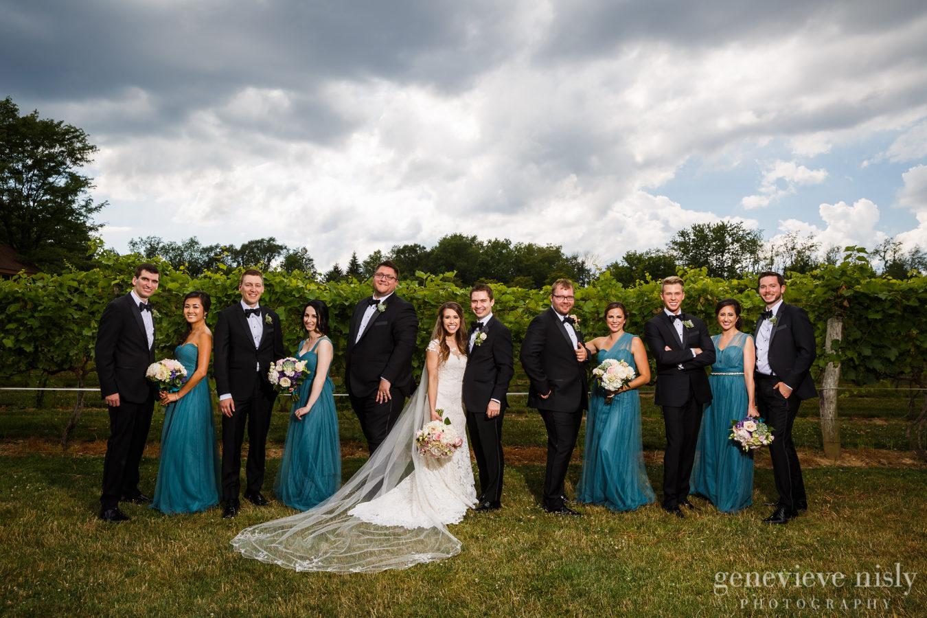 Wedding photo courtesy of Genevieve Nisly Photography